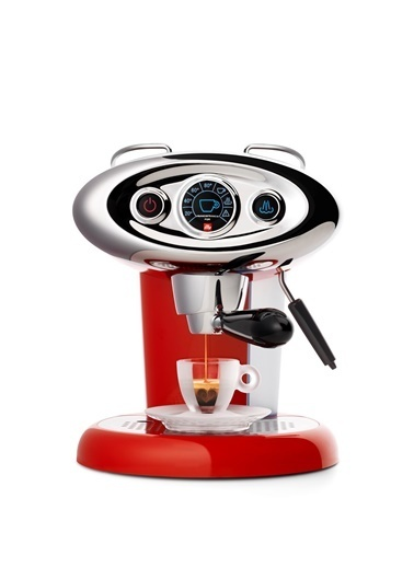 İlly X7.1 Espresso&Kahve Makinesi Kırmızı Kırmızı